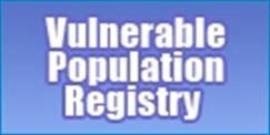 Vulnerable Popuation Registry