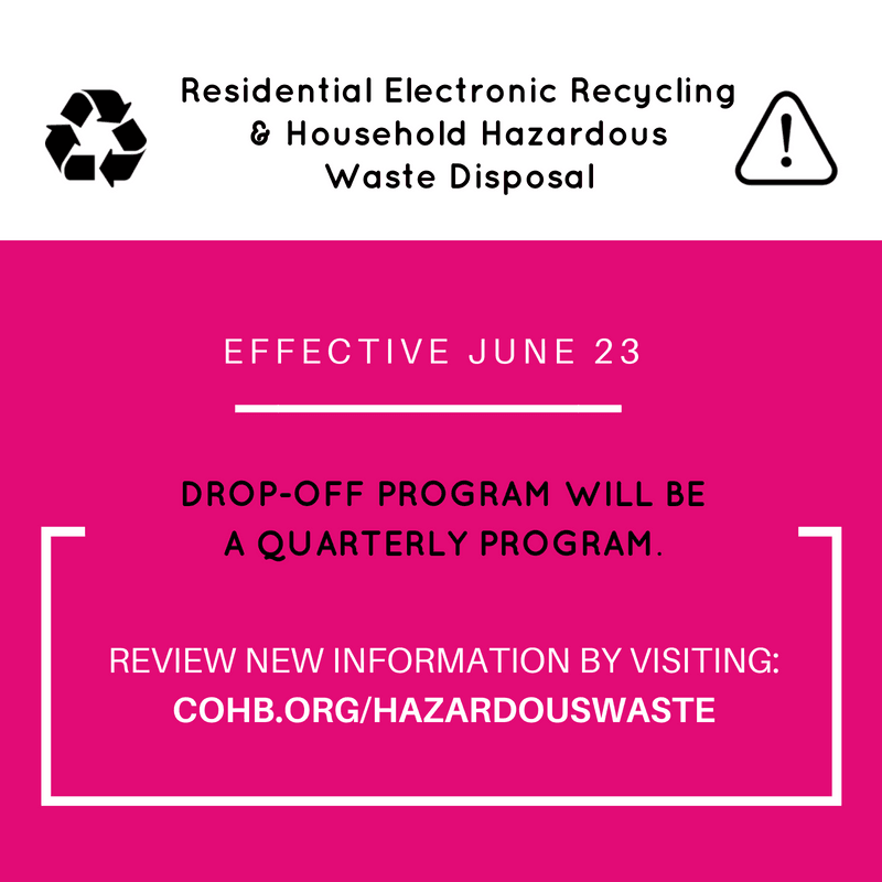 Residential_Electronic Recycling-Household HazardousWaste Disposal