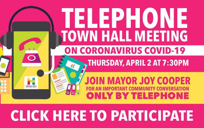 Telephone Town Hall Meeting on COVID-19