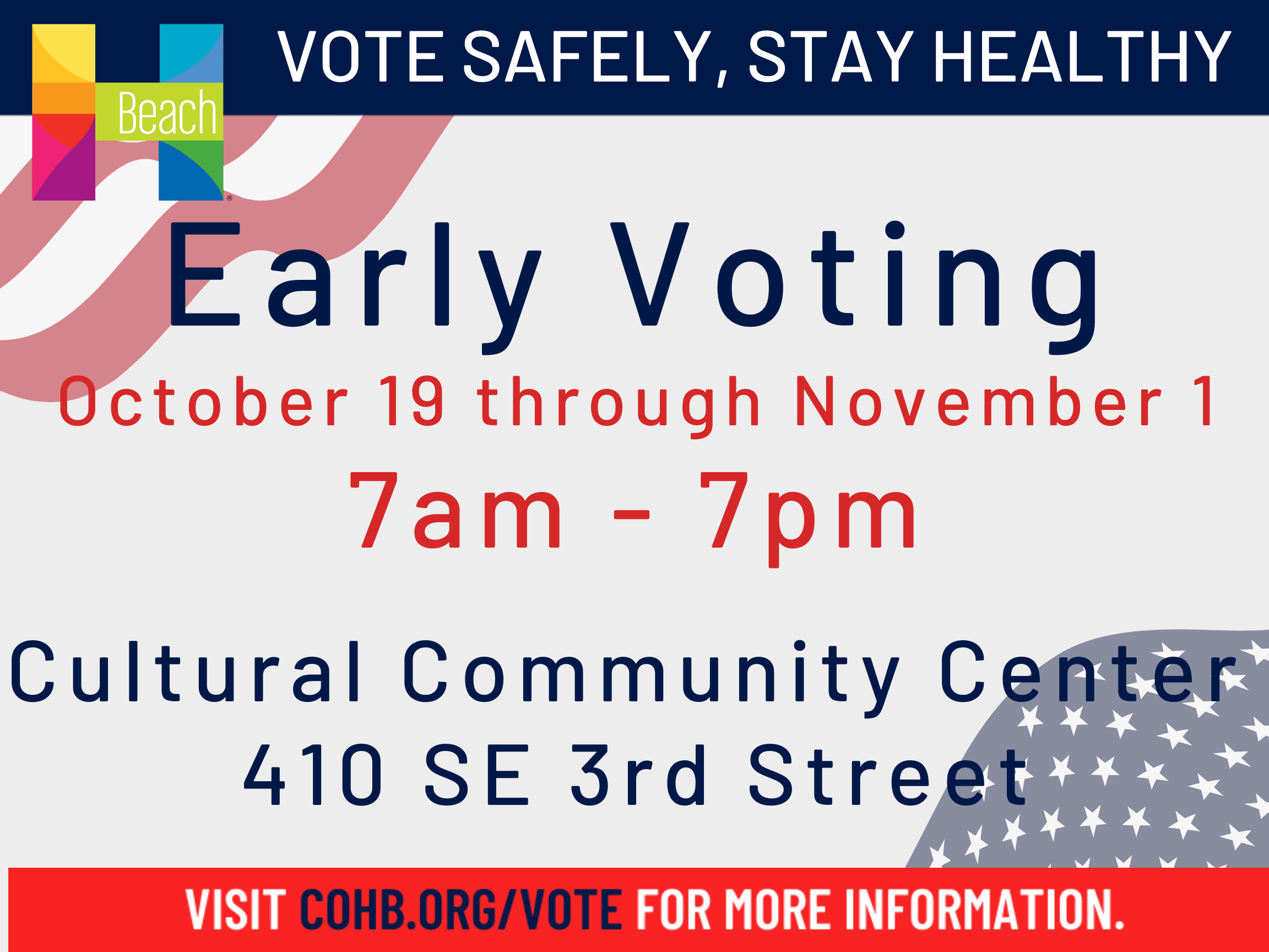 Early Vote Safely