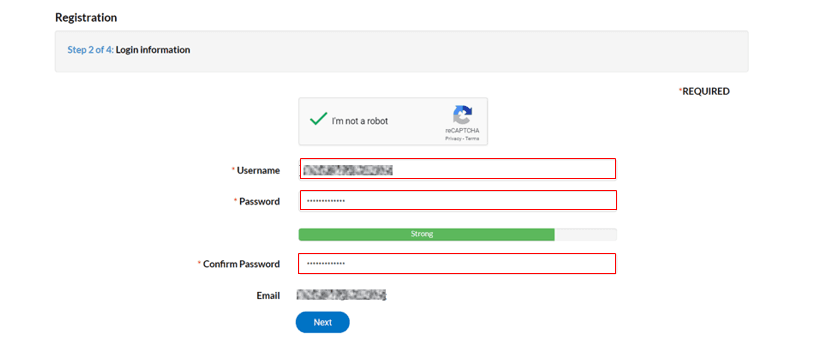 Step 6 How to Register and Log into HB-ePermitting Portal