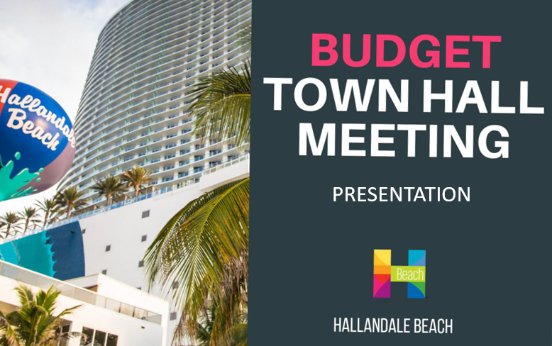 Budget Presentation Town Hall Meeting for FY 20-21 Opens in new window