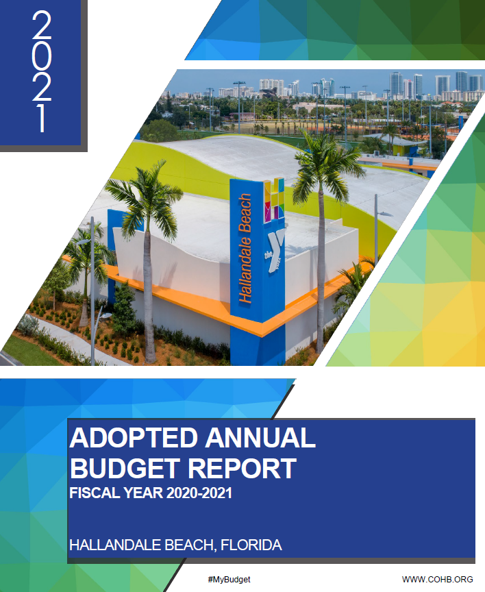 Budget Adopted Cover